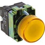 Лампа сигнальная BV65 24В желт. EKF xb2-bv65-24