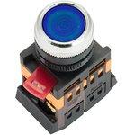 Кнопка ABLFS-22 с подсветкой син. NO+NC 230В PROxima EKF ablfs-22-b
