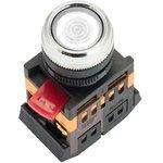 Кнопка ABLFS-22 с подсветкой прозр. NO+NC 230В PROxima EKF ablfs-22