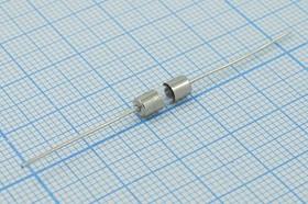 Предохранители стеклянные 3.6х10мм с гибкими выводами, 250В/5А, 10130 пред 3,6x10\ 5,0А\\стек\L\