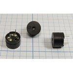 Излучатель звука магнитоэлектрический без генератора, 1.5В/16 Ом, 12x9мм ...