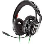 Наушники с микрофоном Plantronics RIG 300 HX черный/зеленый ...