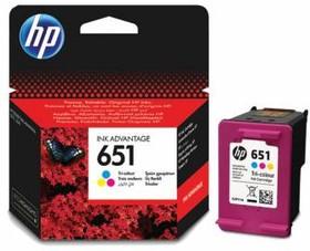 Картридж HP 651 C2P11AE, многоцветный