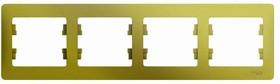 GLOSSA рамка 4-постовая горизонтальная фисташковый