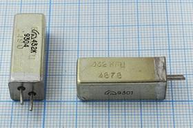 кварцевый резонатор 432кГц с большим кристаллом в металлическом корпусе УД, 432 \УД\\\\РК168\1Г 11x11x28