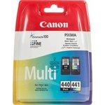 Двойная упаковка картриджей CANON PG-440/CL-441 5219B005 ...