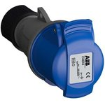 Розетка кабельная 216EC6 Easy&Safe 216EC6 16А 2P+E IP44 6ч ...