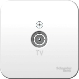 Коннектор TV ОП BLANCA изол. пласт. бел. SchE BLNTA000011