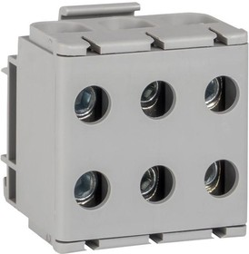 Клемма силовая вводная тройная КСВ 16-50кв.мм сер. PROxima EKF plc-kvs3-16-50-grey