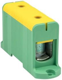 Фото 1/2 Клемма силовая вводная КСВ 35-240кв.мм желт./зел. EKF plc-kvs-35-240-y-green