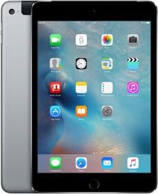 Планшет APPLE iPad mini 4 128Gb Wi-Fi + Cellular MK762RU/A, 2GB, 128GB, 3G, 4G, iOS темно-серый