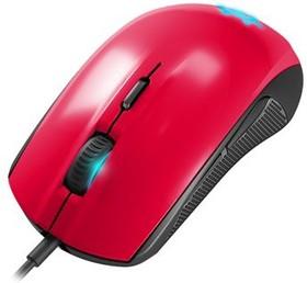 Мышь STEELSERIES Rival 100 Forged оптическая проводная USB, красный [62337]