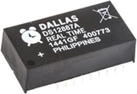 Фото 1/4 DS12887A+, Часы реального времени, будильник, календарь, [DIP-24mod]