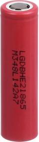 ICR18650HE2(LGDBHE21865), Аккумулятор Li-ion, 2500mAh, 20А, 3.7V высокотоковый (18.5х65.2мм)