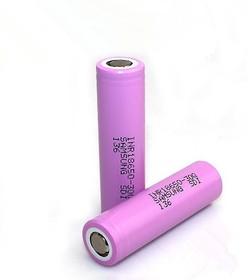 INR18650-30Q, Аккумулятор Li-ion, 3000mAh, 15А, 3.7V высокотоковый (18.4х65мм)