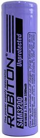Фото 1/2 LiSAM3200 18650, Аккумулятор Li-ion, 3200mAh, 3.7V (18.4х65мм)
