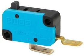 MK1PUP10G, Микропереключатель 10А 250VAC без лапки 1НЗ