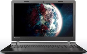 "Ноутбук LENOVO IdeaPad 100-15IBY, 15.6"", Intel Celeron N2840, 2.16ГГц, 2Гб, 250Гб, Intel HD Graphics , Windows 10, черный [80mj00dtrk]"