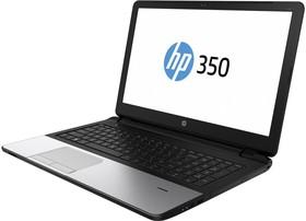 """Ноутбук HP 350 G2, 15.6"""", Intel Pentium 3805U, 1.9ГГц, 4Гб, 500Гб, Intel HD Graphics , DVD-RW, Windows 7 Professional (L8B74EA)"""