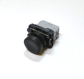 КМЕ4102м (чер.), Выключатель кнопочный черный без фиксации 2хON-(OFF) 10A/660VAC