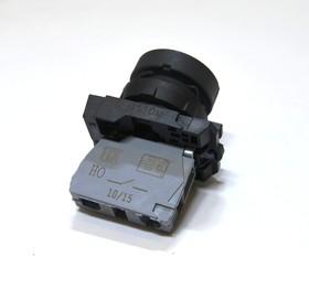 КМЕ4110м (чер.), Выключатель кнопочный черный без фиксации OFF-(ON) 10A/660VAC