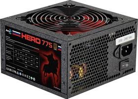 Блок питания AEROCOOL Hero 775, 750Вт, 120мм, черный, retail