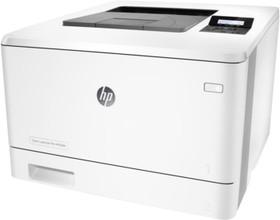 Принтер HP Color LaserJet Pro M452dn, лазерный, цвет: белый [cf389a]