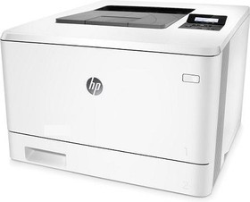Принтер HP Color LaserJet Pro M452nw лазерный, цвет: белый [cf388a]
