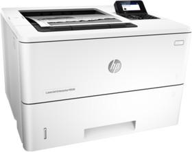 Принтер HP LaserJet Enterprise M506dn, лазерный, цвет: белый [f2a69a]