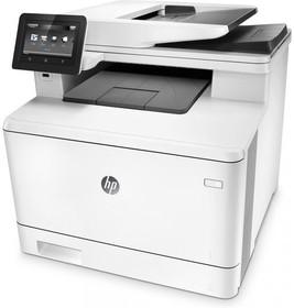 МФУ HP Color LaserJet Pro M477fdn, A4, цветной, лазерный, белый [cf378a]