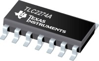Фото 1/4 TLC2274ACD, Операционный усилитель, General Purpose, Rail-to-Rail, 2.25МГц [SO14]