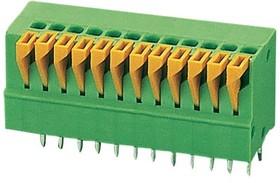 DG141V-12P (2.54mm), Клеммник нажимной на плату 12 pin