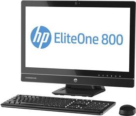 Моноблок HP EliteOne 800 G1, Intel Core i3 4160, 4Гб, 500Гб, Intel HD Graphics 4400, DVD-RW, Free DOS, черный [j7d40ea]