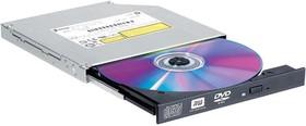 Оптический привод DVD-RW LG GTC0N, внутренний, SATA, черный, OEM