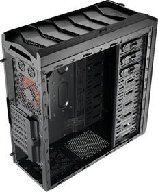 Корпус ATX AEROCOOL Xpredator X1 Black Edition, Midi-Tower, без БП, черный