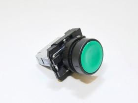 КМЕ4110м (зел.), Выключатель кнопочный зеленый без фиксации OFF-(ON) 10A/660VAC