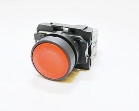 КМЕ4102м (кр.), Выключатель кнопочный красный без фиксации 2хON-(OFF) 10A/660VAC