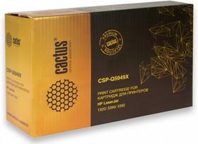 Картридж CACTUS CSP-Q5949X PREMIUM, черный