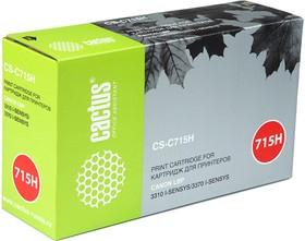 Картридж CACTUS CS-C715H черный