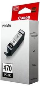Картридж CANON PGI-470PGBK 0375C001, черный