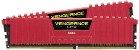 Модуль памяти CORSAIR Vengeance LPX CMK16GX4M2A2400C14R DDR4 - 2x 8Гб 2400, DIMM, Ret