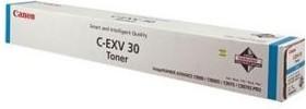 Тонер CANON C-EXV30C, для C9000 PRO, голубой, флакон