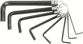 35D055, Ключи шестигранные 2-10 мм, набор 8 шт.