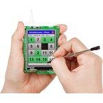 Фото 2/5 MIKROE-1102, mikromedia for STM32 M4, Отладочная плата на основе STM32F407VGT6 с TFT Touch Screen дисплеем 320 х 240 px