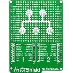 Фото 4/5 MIKROE-1154, mikroBUS Shield for mikromedia, Плата раширения для mikromedia bord с макетной областью и 2 разъема mikroBUS