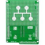 Фото 5/5 MIKROE-1154, mikroBUS Shield for mikromedia, Плата раширения для mikromedia bord с макетной областью и 2 разъема mikroBUS