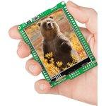 MIKROE-1159, mikromedia for dsPIC33EP, Отладочная плата на основе dsPIC33EP512MU810 с TFT Touch Screen дисплеем 320 х 240 px