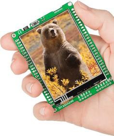 Фото 1/5 MIKROE-1159, mikromedia for dsPIC33EP, Отладочная плата на основе dsPIC33EP512MU810 с TFT Touch Screen дисплеем 320 х 240 px