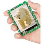 MIKROE-1160, mikromedia for PIC24EP, Отладочная плата на основе PIC24EP512GU810 с TFT Touch Screen дисплеем 320 х 240 px