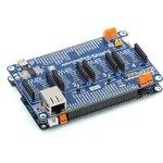 Фото 2/5 MIKROE-1417, mikromedia Plus for STM32 Shield, Плата раширения для mikromedia Plus for STM32 c 4 разъемами mikroBUS, CAN и Ethernet интерфе